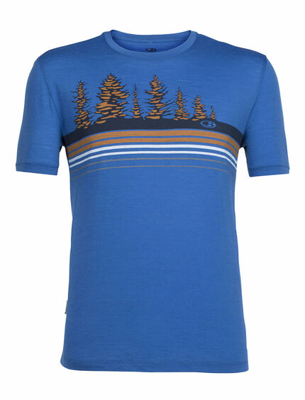 Tech Lite Short Sleeve Crewe Tree Line