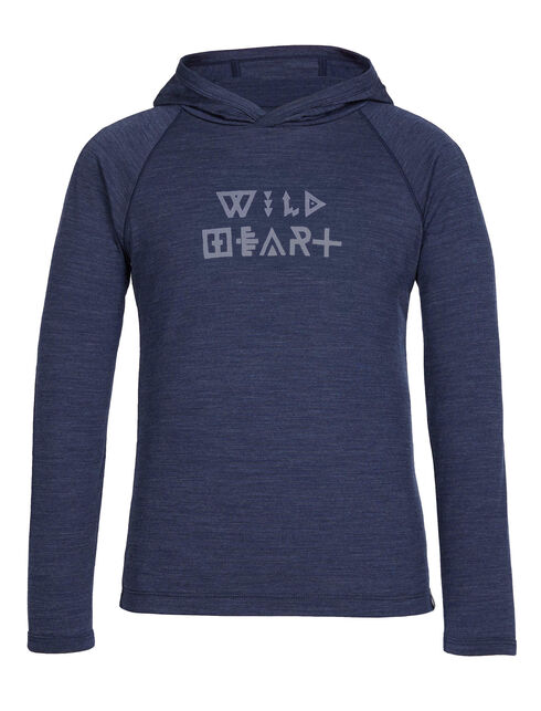 Cool-Lite Sphere Long Sleeve Hood Wild Heart Glyphs