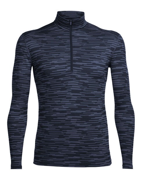 Oasis Long Sleeve Half Zip Zig Zag