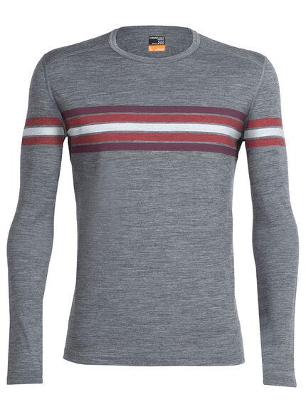 Oasis Long Sleeve Crewe Coronet Stripe