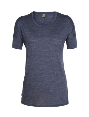 Cool-Lite™ Solace短袖中低圆领上衣