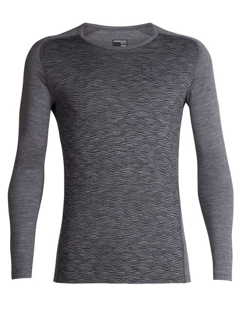200 Oasis Deluxe Raglan Long Sleeve Crewe Fall Line
