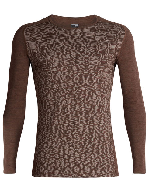Men's 200 Oasis Deluxe Raglan Long Sleeve Crewe Fall Line