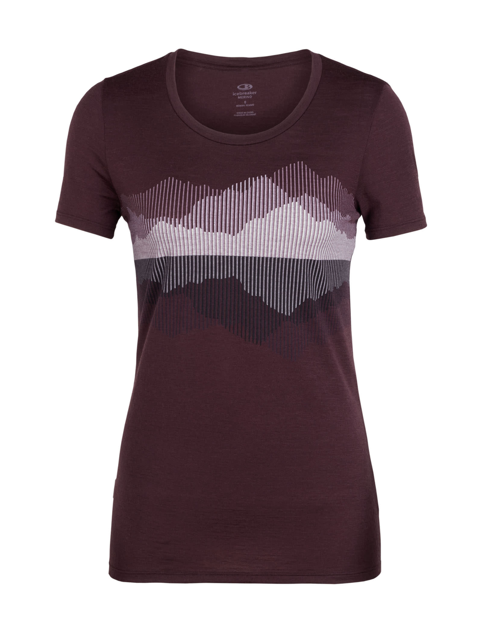 dd73db8f0e2 Camping & Hiking Icebreaker Womenss Tech Lite Short Sleeve Low Crewe at My  Peak First Layers ...