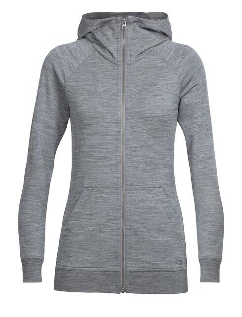 Crush Long Sleeve Zip Hood