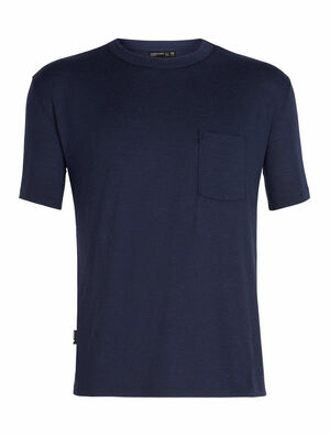 旅 TABI Tech Lite Laid-Back Short Sleeve Pocket Crewe
