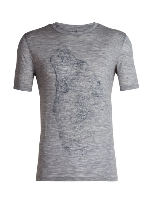Tech Lite Short Sleeve Crewe Contour Wolf