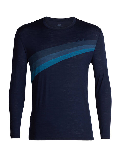 Spector Long Sleeve Crewe Ascent Stripe
