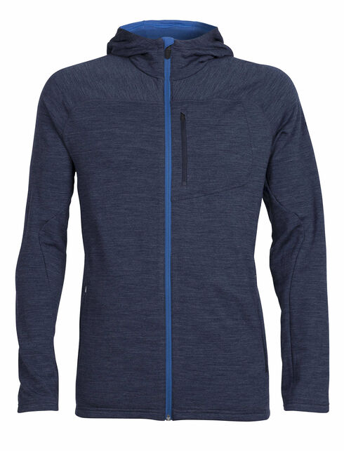 RealFLEECE® Mt Elliot Long Sleeve Zip Hood