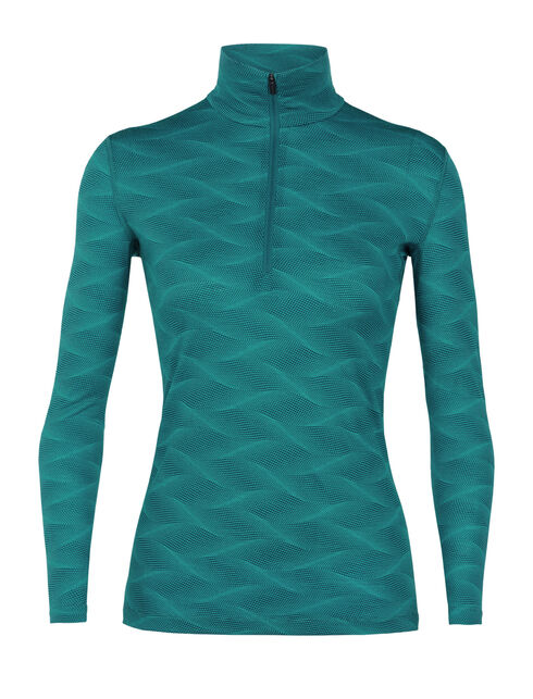 200 Oasis Long Sleeve Half Zip Curve