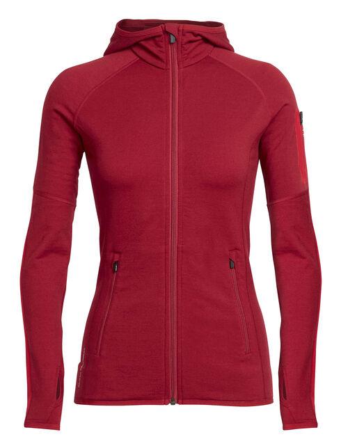 RealFLEECE® Atom Long Sleeve Zip Hood