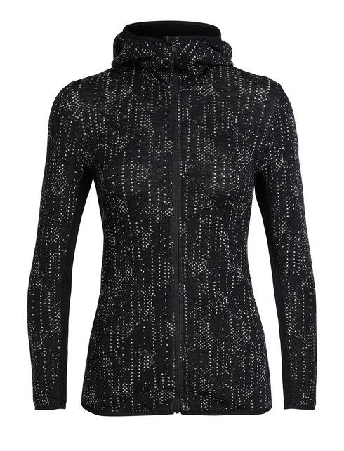Women's Away Long Sleeve Zip Hood Showers