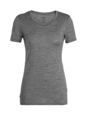 Tech Lite短袖中低圆领上衣(Panax)