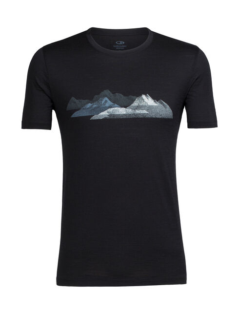 Tech Lite Short Sleeve Crewe Misty Peaks